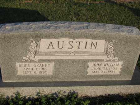AUSTIN, JOHN WILLIAM - Poinsett County, Arkansas | JOHN WILLIAM AUSTIN - Arkansas Gravestone Photos