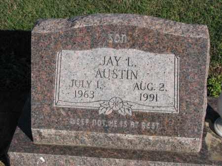 AUSTIN, JAY L. - Poinsett County, Arkansas | JAY L. AUSTIN - Arkansas Gravestone Photos