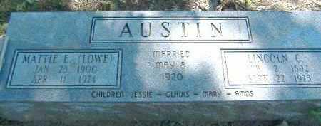 AUSTIN, MATTIE E - Poinsett County, Arkansas | MATTIE E AUSTIN - Arkansas Gravestone Photos