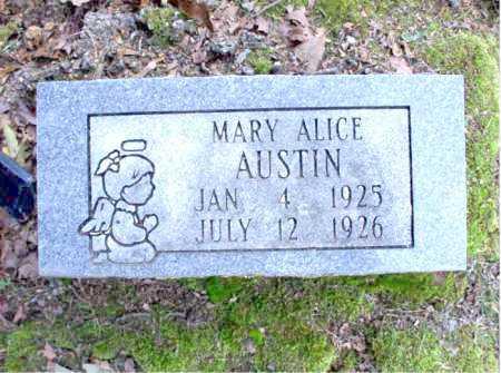 AUSTIN, MARY ALICE - Poinsett County, Arkansas | MARY ALICE AUSTIN - Arkansas Gravestone Photos