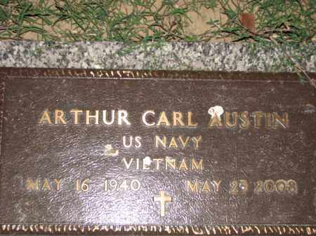 AUSTIN (VETERAN VIET), ARTHUR CARL - Poinsett County, Arkansas | ARTHUR CARL AUSTIN (VETERAN VIET) - Arkansas Gravestone Photos