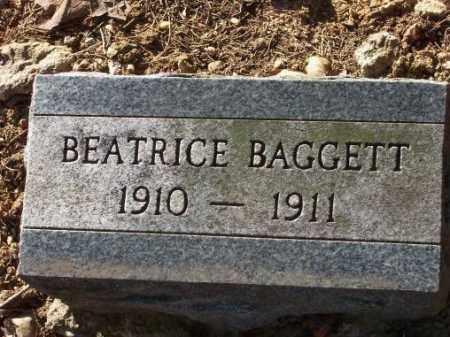 BAGGETT, BEATRICE - Poinsett County, Arkansas | BEATRICE BAGGETT - Arkansas Gravestone Photos