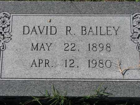 BAILEY, DAVID R. - Poinsett County, Arkansas | DAVID R. BAILEY - Arkansas Gravestone Photos