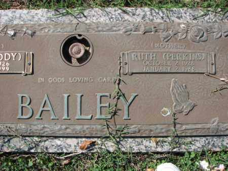 PERKINS BAILEY, RUTH - Poinsett County, Arkansas | RUTH PERKINS BAILEY - Arkansas Gravestone Photos