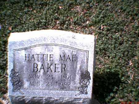 BAKER, HATTIE MAE - Poinsett County, Arkansas   HATTIE MAE BAKER - Arkansas Gravestone Photos