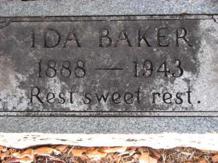 BAKER, IDA - Poinsett County, Arkansas | IDA BAKER - Arkansas Gravestone Photos