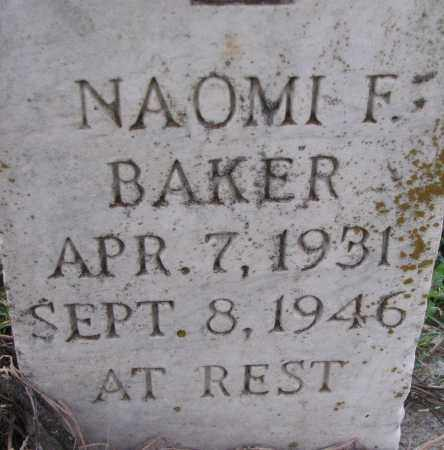 BAKER, NAOMI F. - Poinsett County, Arkansas | NAOMI F. BAKER - Arkansas Gravestone Photos