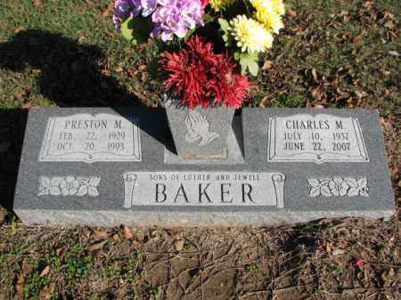 BAKER, PRESTON M. - Poinsett County, Arkansas | PRESTON M. BAKER - Arkansas Gravestone Photos