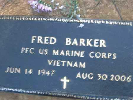 BARKER  (VETERAN VIET), FRED - Poinsett County, Arkansas   FRED BARKER  (VETERAN VIET) - Arkansas Gravestone Photos