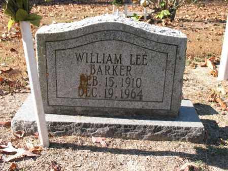 BARKER, WILLIAM LEE - Poinsett County, Arkansas | WILLIAM LEE BARKER - Arkansas Gravestone Photos