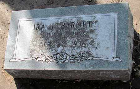 BARNETT, IRA J. - Poinsett County, Arkansas | IRA J. BARNETT - Arkansas Gravestone Photos