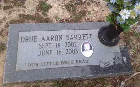 BARRETT, DRUE AARON - Poinsett County, Arkansas   DRUE AARON BARRETT - Arkansas Gravestone Photos