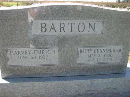 CUNNINGHAM BARTON, BETTY - Poinsett County, Arkansas | BETTY CUNNINGHAM BARTON - Arkansas Gravestone Photos