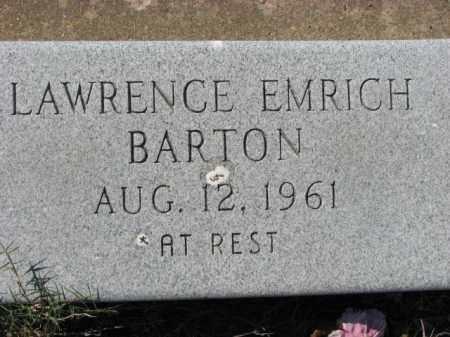 BARTON, LAWRENCE - Poinsett County, Arkansas   LAWRENCE BARTON - Arkansas Gravestone Photos