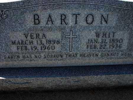 BARTON, WHIT - Poinsett County, Arkansas | WHIT BARTON - Arkansas Gravestone Photos