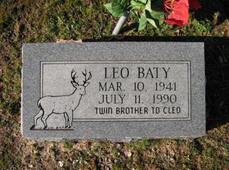 BATY, LEO - Poinsett County, Arkansas | LEO BATY - Arkansas Gravestone Photos