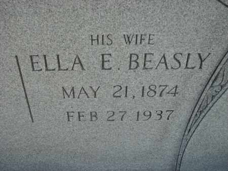BEASLY, ELLA E. - Poinsett County, Arkansas | ELLA E. BEASLY - Arkansas Gravestone Photos