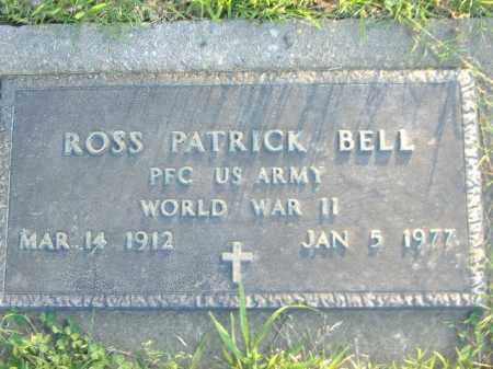 BELL  (VETERAN WWII), ROSS PATRICK - Poinsett County, Arkansas   ROSS PATRICK BELL  (VETERAN WWII) - Arkansas Gravestone Photos