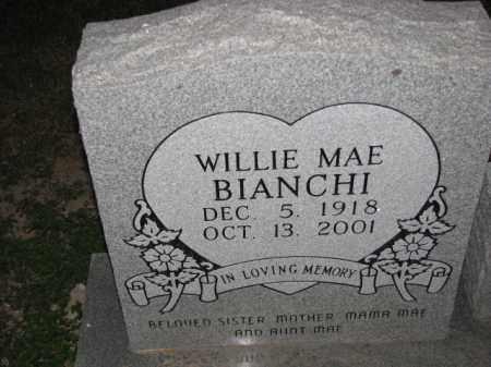 BIANCHI, WILLIE MAE - Poinsett County, Arkansas | WILLIE MAE BIANCHI - Arkansas Gravestone Photos