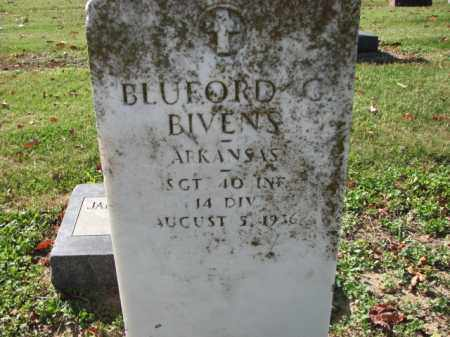 BIVENS (VETERAN), BLUFORD G - Poinsett County, Arkansas   BLUFORD G BIVENS (VETERAN) - Arkansas Gravestone Photos
