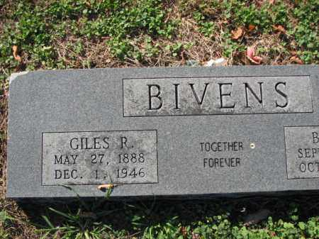 BIVENS, GILES R. - Poinsett County, Arkansas | GILES R. BIVENS - Arkansas Gravestone Photos