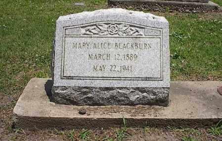 BLACKBURN, MARY ALICE - Poinsett County, Arkansas | MARY ALICE BLACKBURN - Arkansas Gravestone Photos