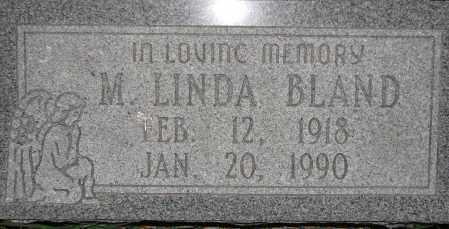 BLAND, M. LINDA - Poinsett County, Arkansas | M. LINDA BLAND - Arkansas Gravestone Photos