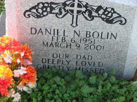 BOLIN, DANIEL N. - Poinsett County, Arkansas | DANIEL N. BOLIN - Arkansas Gravestone Photos