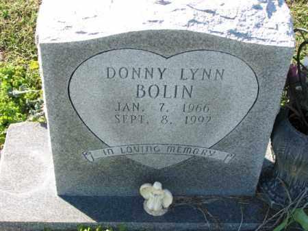 BOLIN, DONNY LYNN - Poinsett County, Arkansas | DONNY LYNN BOLIN - Arkansas Gravestone Photos