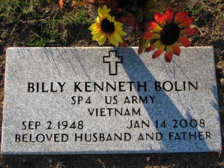 BOLIN (VETERAN VIET), BILLY KENNETH - Poinsett County, Arkansas | BILLY KENNETH BOLIN (VETERAN VIET) - Arkansas Gravestone Photos