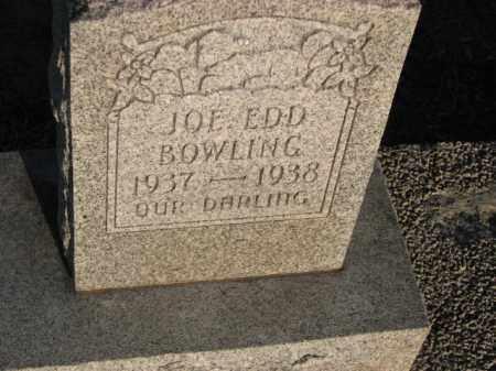 BOWLING, JOE EDD - Poinsett County, Arkansas   JOE EDD BOWLING - Arkansas Gravestone Photos