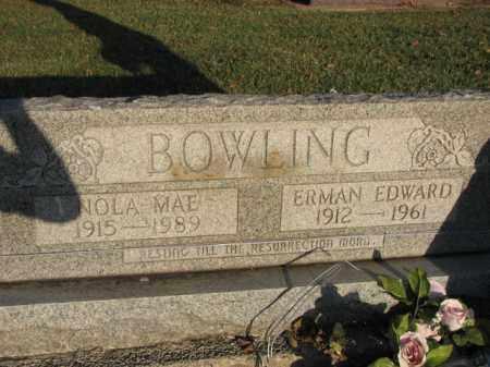 BOWLING, ERMAN EDWARD - Poinsett County, Arkansas   ERMAN EDWARD BOWLING - Arkansas Gravestone Photos