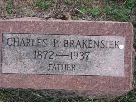 BRAKENSIEK, CHARLES P. - Poinsett County, Arkansas | CHARLES P. BRAKENSIEK - Arkansas Gravestone Photos
