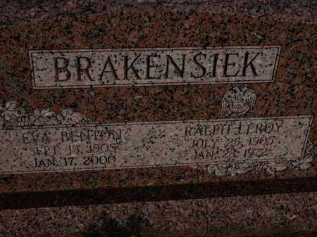 BRAKENSIEK, EVA - Poinsett County, Arkansas | EVA BRAKENSIEK - Arkansas Gravestone Photos