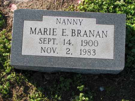 BRANAN, MARIE E. - Poinsett County, Arkansas   MARIE E. BRANAN - Arkansas Gravestone Photos