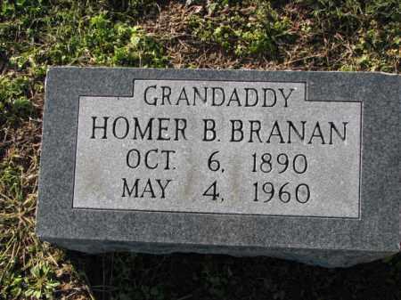 BRANNAN, HOMER B. - Poinsett County, Arkansas | HOMER B. BRANNAN - Arkansas Gravestone Photos