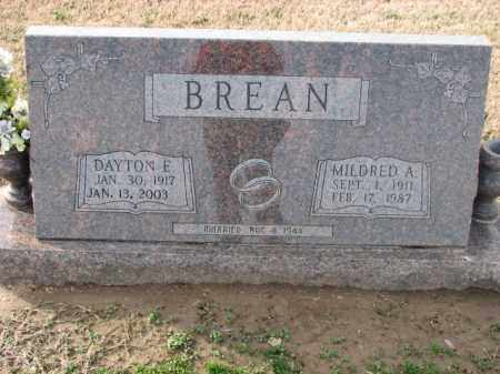 BREAN, MILDRED A. - Poinsett County, Arkansas | MILDRED A. BREAN - Arkansas Gravestone Photos
