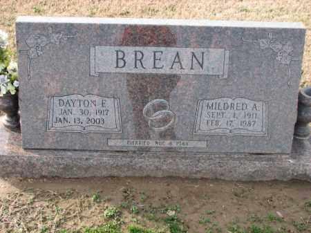 BREAN, DAYTON E - Poinsett County, Arkansas | DAYTON E BREAN - Arkansas Gravestone Photos