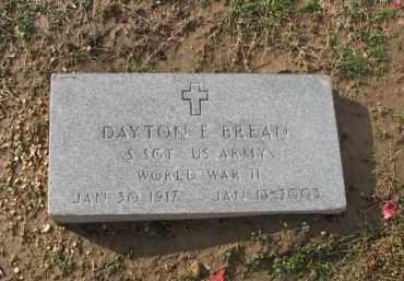 BREAN (VETERAN WWII), DAYTON E. - Poinsett County, Arkansas   DAYTON E. BREAN (VETERAN WWII) - Arkansas Gravestone Photos