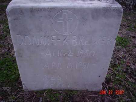 BREWER, DONNIE K. - Poinsett County, Arkansas | DONNIE K. BREWER - Arkansas Gravestone Photos