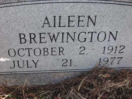 BREWINGTON, AILEEN - Poinsett County, Arkansas   AILEEN BREWINGTON - Arkansas Gravestone Photos
