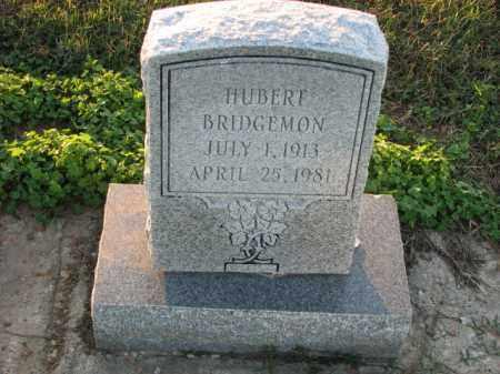 BRIDGEMON, HUBERT - Poinsett County, Arkansas   HUBERT BRIDGEMON - Arkansas Gravestone Photos
