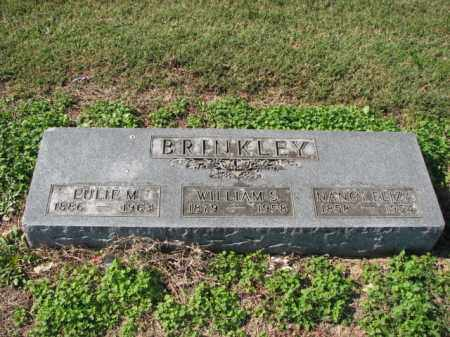 BRINKLEY, EULIE M. - Poinsett County, Arkansas | EULIE M. BRINKLEY - Arkansas Gravestone Photos