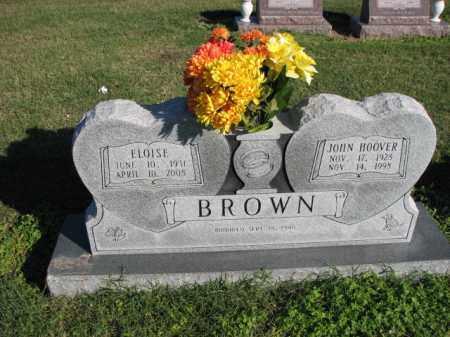 BROWN, JOHN HOOVER - Poinsett County, Arkansas | JOHN HOOVER BROWN - Arkansas Gravestone Photos