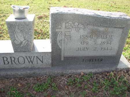 BROWN, ISSAC ALVIE - Poinsett County, Arkansas   ISSAC ALVIE BROWN - Arkansas Gravestone Photos