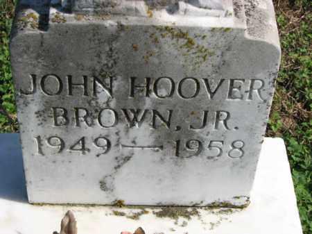BROWN, JR., JOHN HOOVER - Poinsett County, Arkansas | JOHN HOOVER BROWN, JR. - Arkansas Gravestone Photos