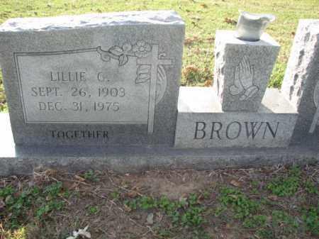 BROWN, LILLIW - Poinsett County, Arkansas   LILLIW BROWN - Arkansas Gravestone Photos