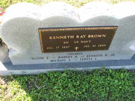 BROWN (VETERAN), KENNETH RAY - Poinsett County, Arkansas | KENNETH RAY BROWN (VETERAN) - Arkansas Gravestone Photos