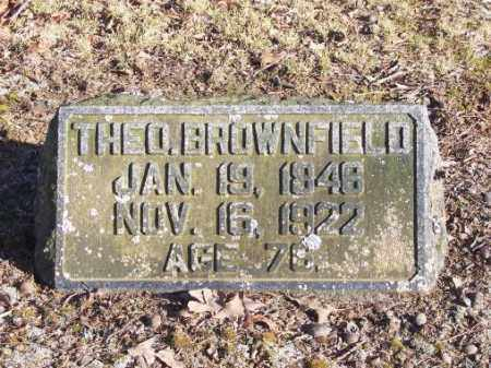 BROWNFIELD, THEODORE - Poinsett County, Arkansas | THEODORE BROWNFIELD - Arkansas Gravestone Photos