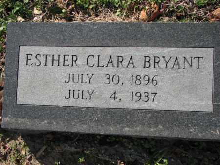 BRYANT, ESTHER CLARA - Poinsett County, Arkansas   ESTHER CLARA BRYANT - Arkansas Gravestone Photos